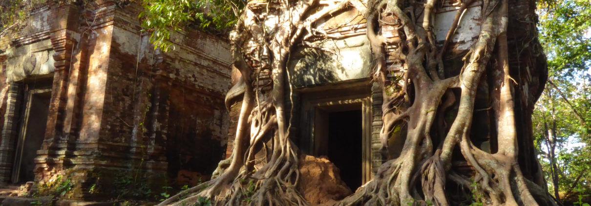 Tempel von Koh Ker, nördlich von Angkor