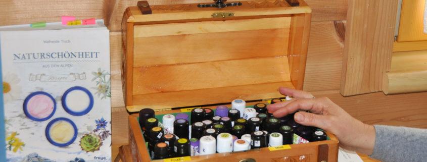 Naturkosmetik mit Ätherischen Pflanzenölen